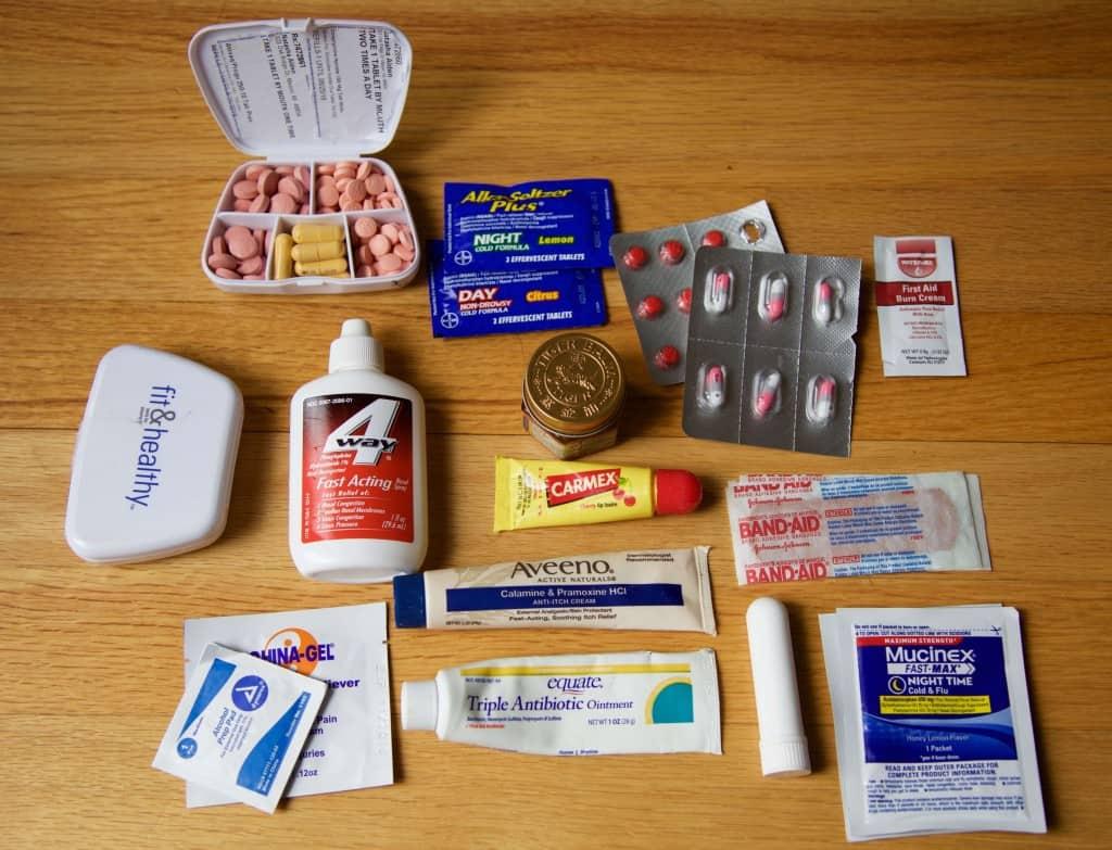 RTW Packing List: Health