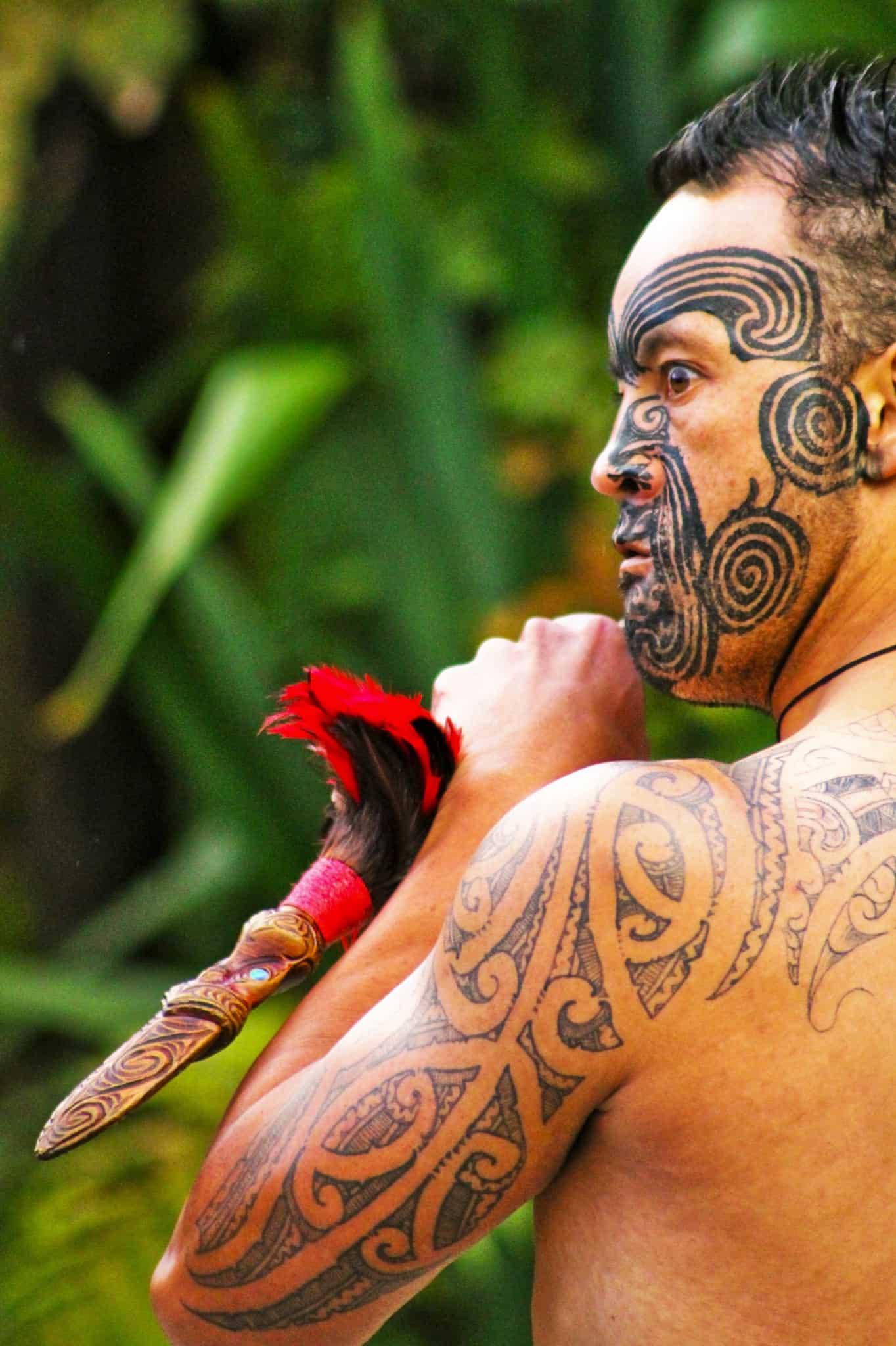 The World Of Maori Tattoo: Maori People