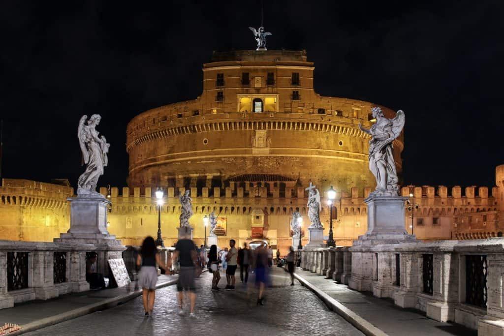 Rome - Italy Itinerary Night