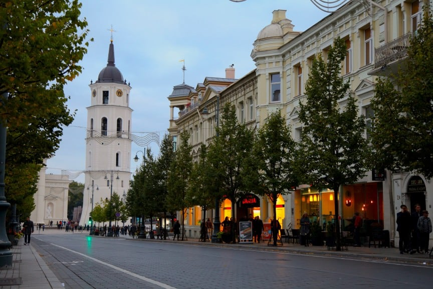 Europe Packing List: Vilnius