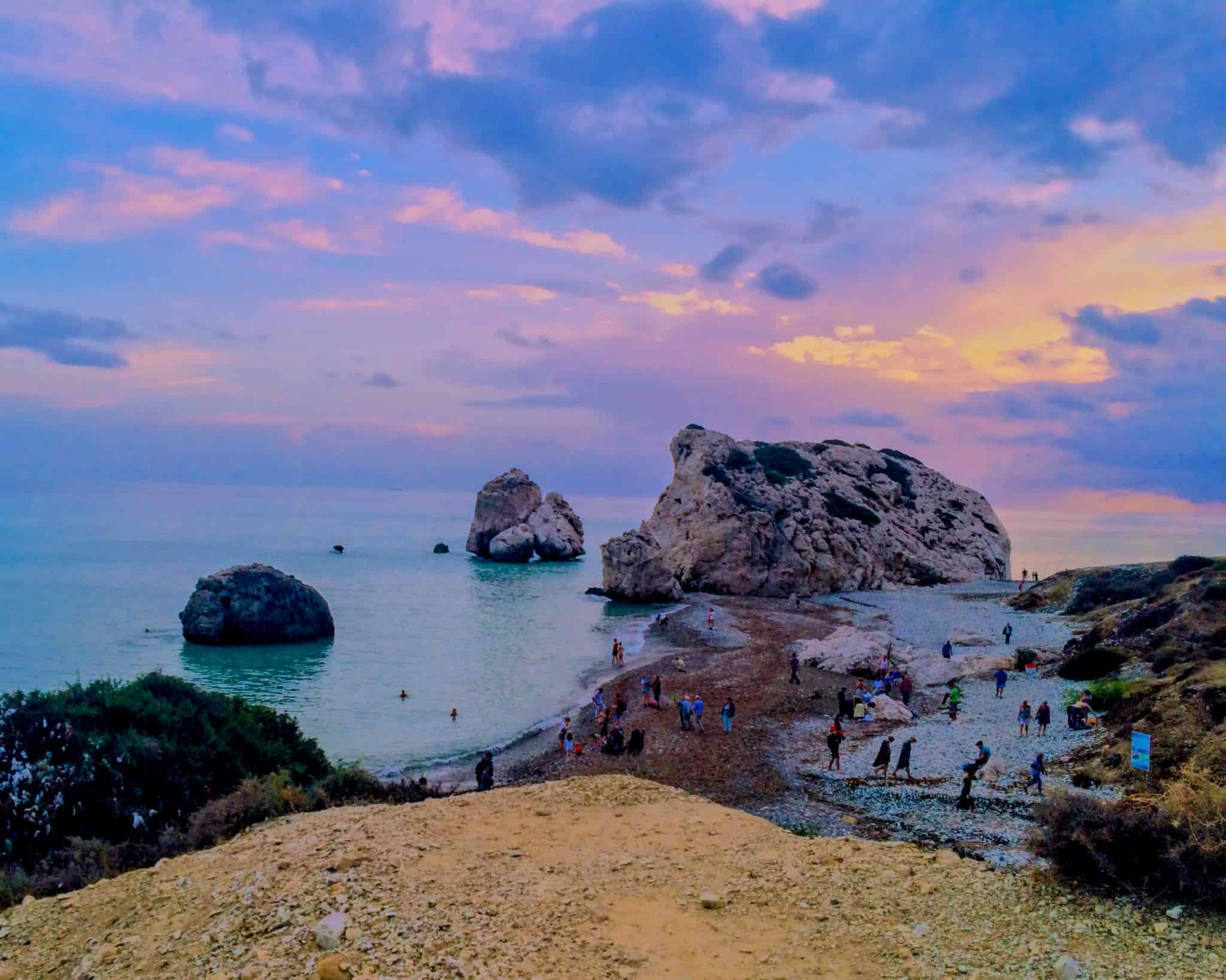 Aphrodites Rock in Cyprus