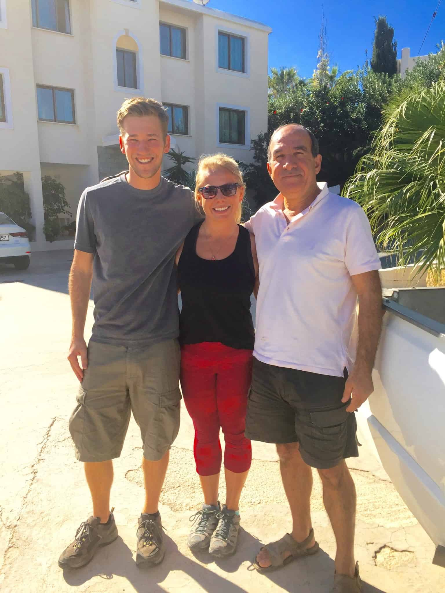 Cypriot Locals - visiting cyprus