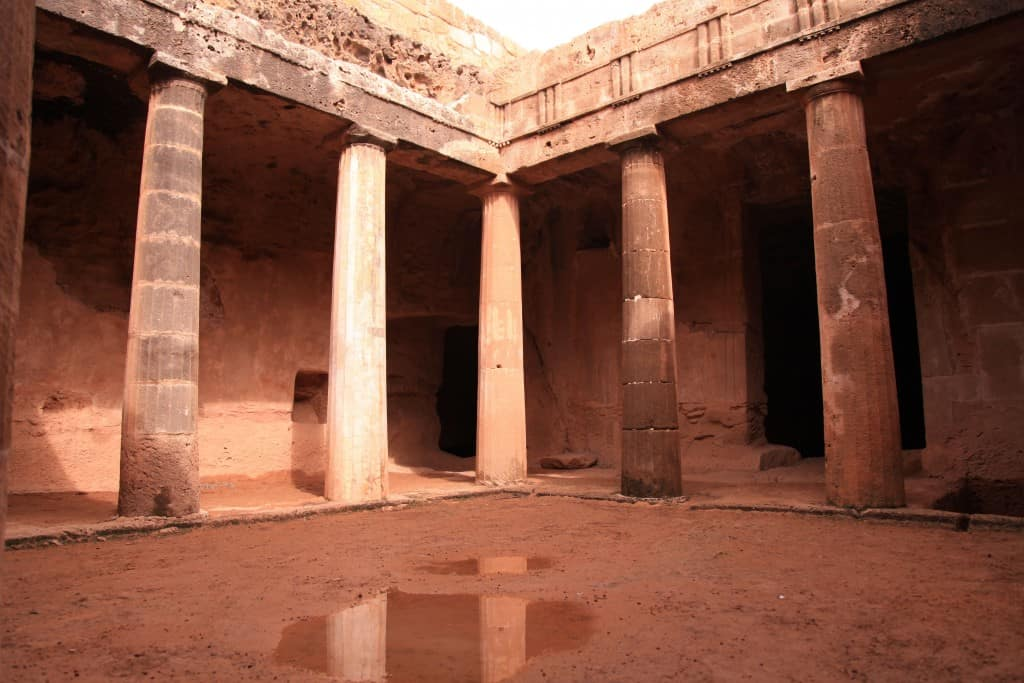 King of the Tombs - visiting the island of Cyprus