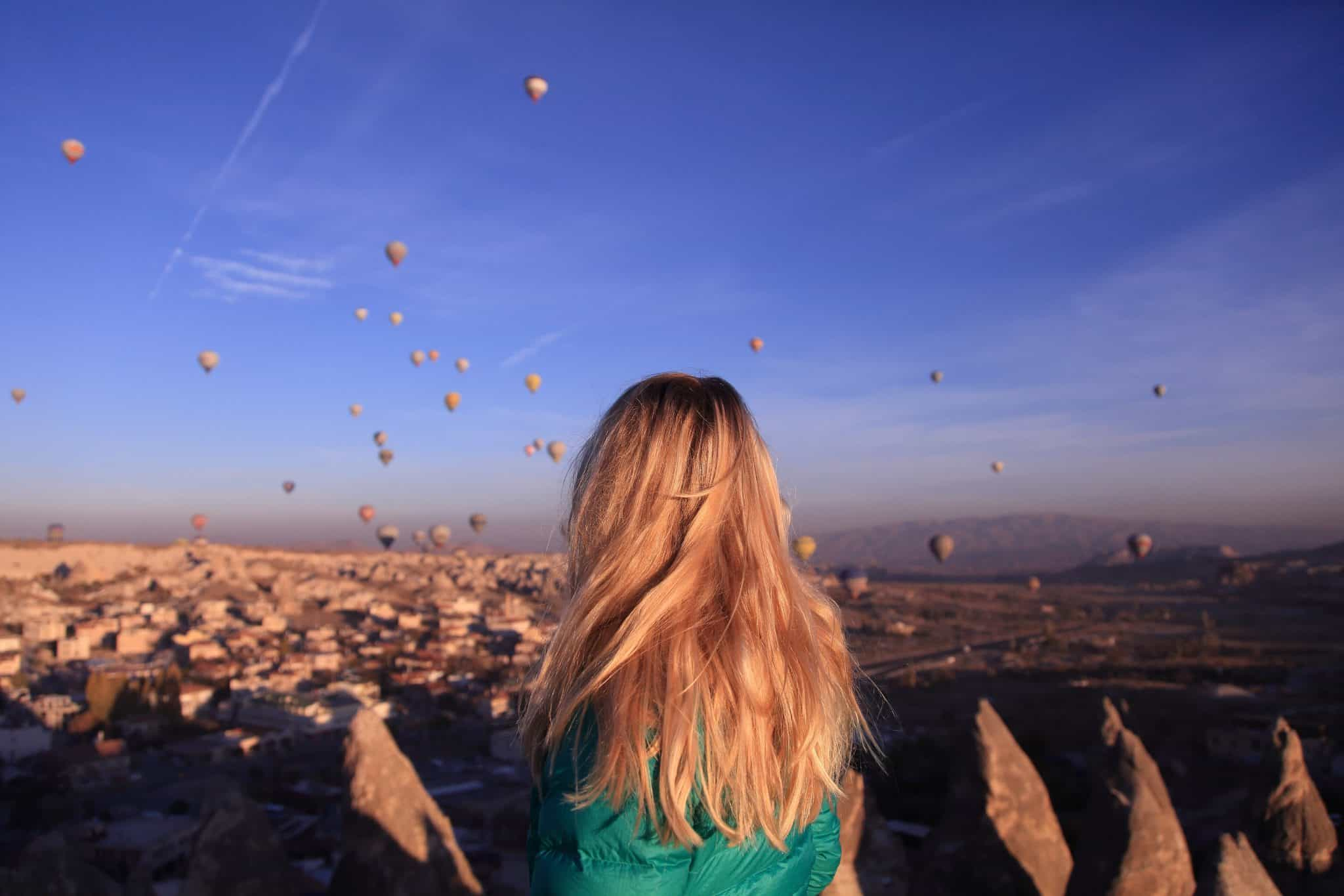 Cappadocia Pictures: Watching the balloons, Cappadocia on a budget