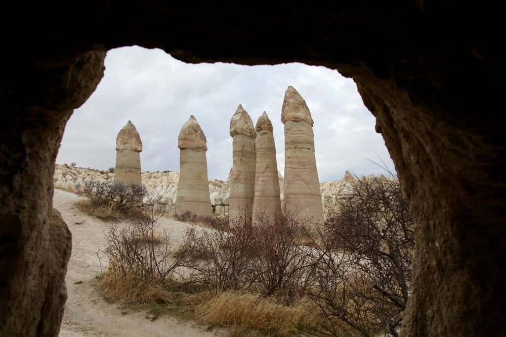 Cappadocia on a budget: Love Valley