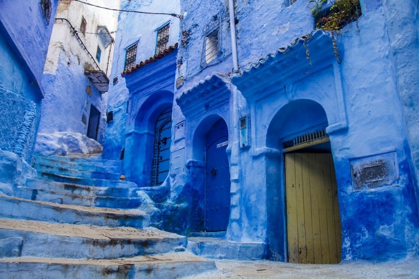 Alleys of Chefchaouen