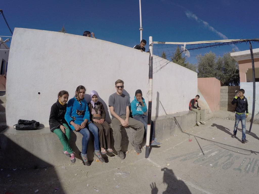 School Near Berber Cultural Center