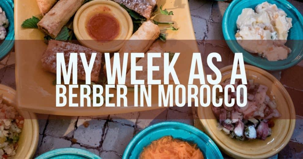 My Week As A Berber