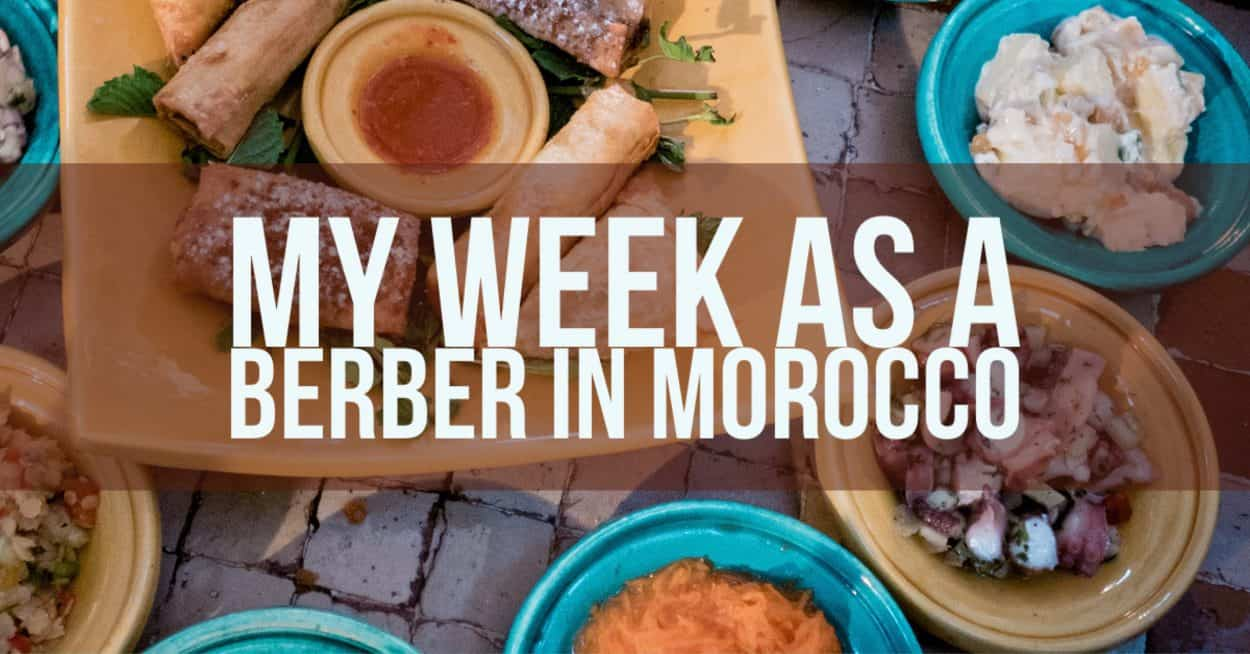 My Week As A Berber