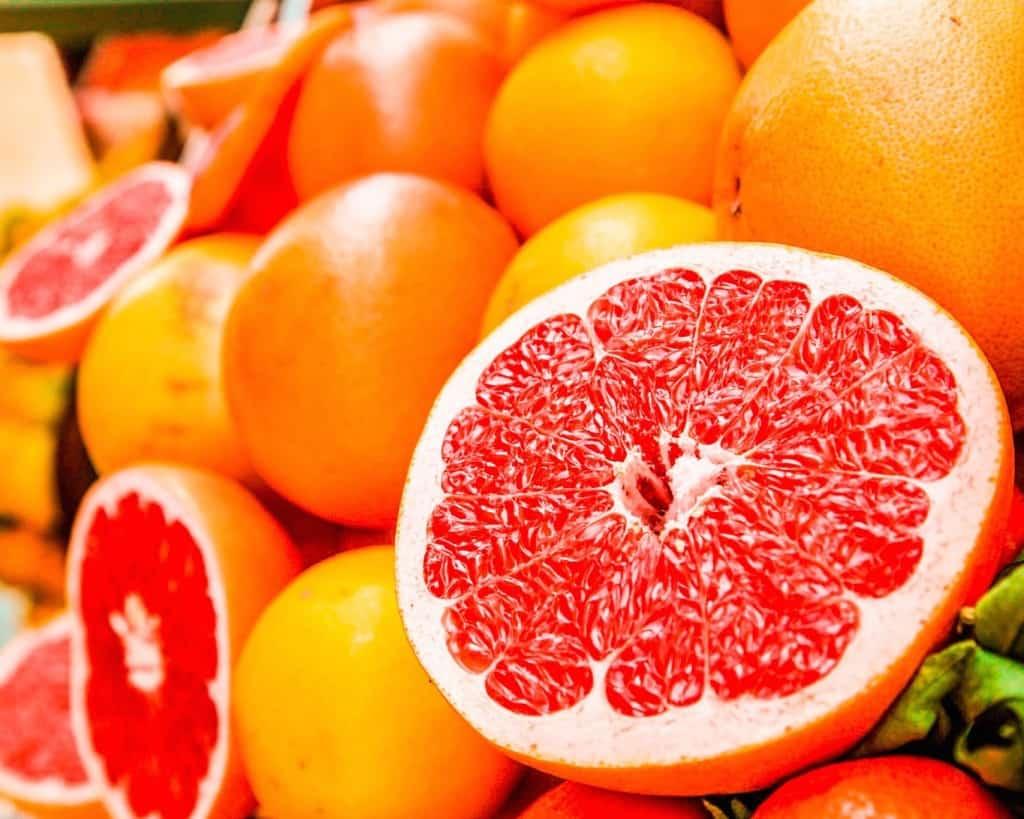 Fresh oranges in Marrakech