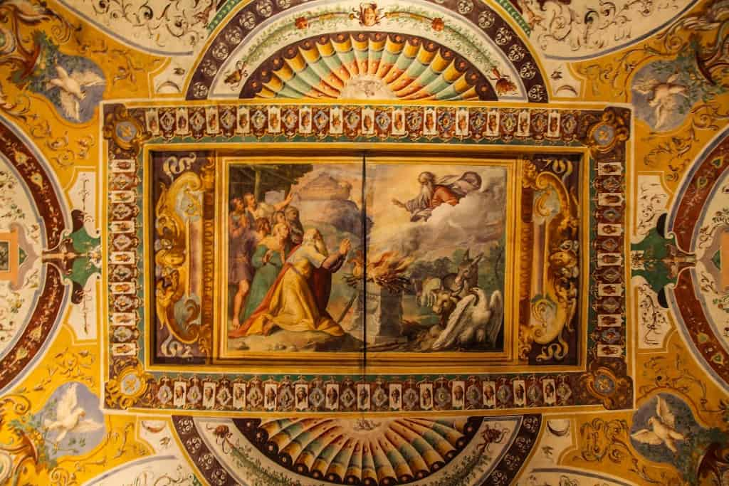 Villa D'este Ceiling Fresco