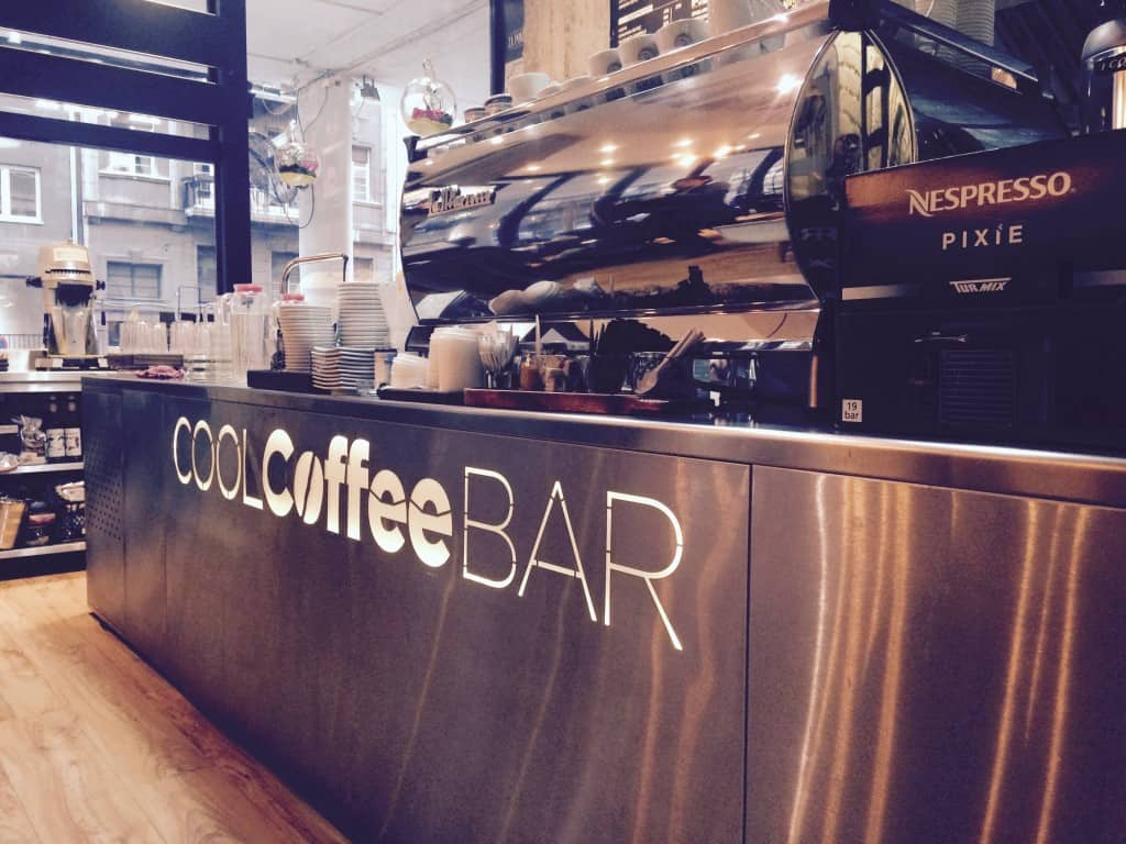 Cool Coffee Bar in Belgrade