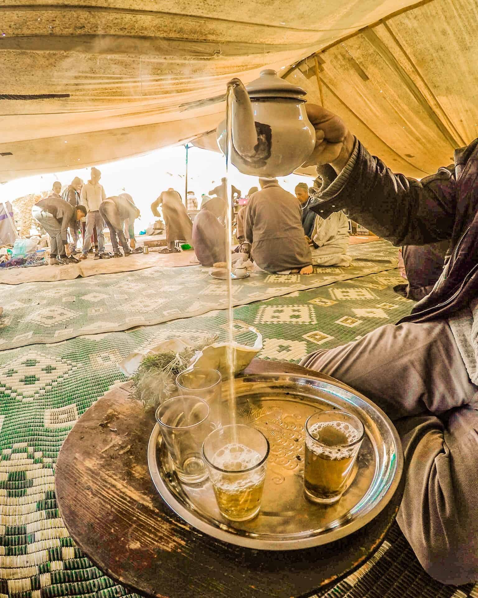 Tea Time in Morocco Best GoPro Travel Photos
