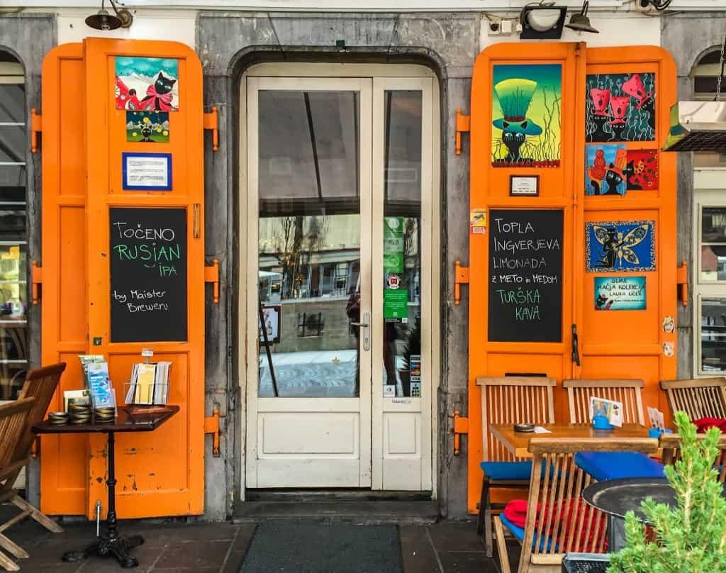 Kavarna Macek: Cafe hopping in Ljubljana