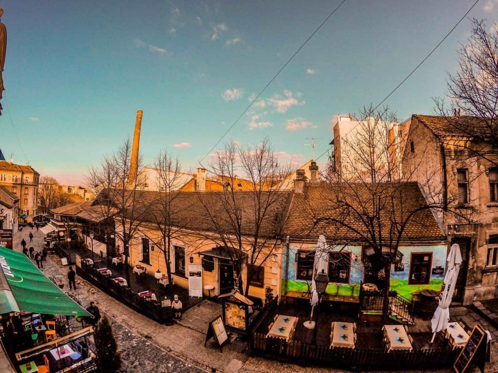 Exploring on our Belgrade Free Walking Tour