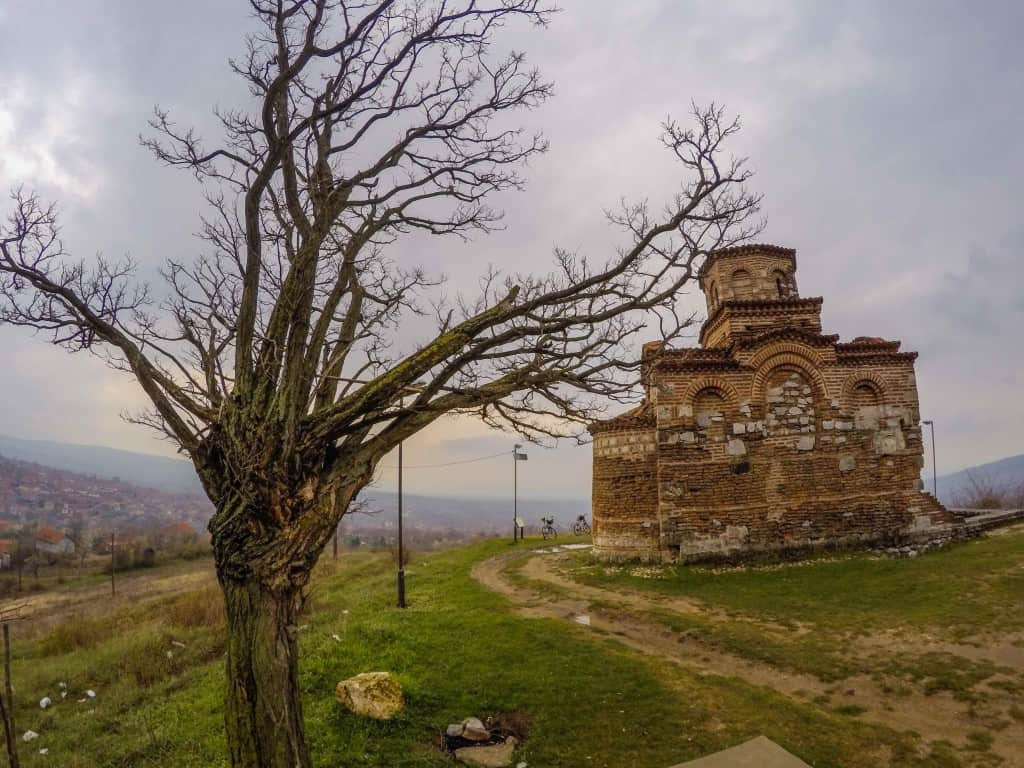 Church in Serbian Countryside
