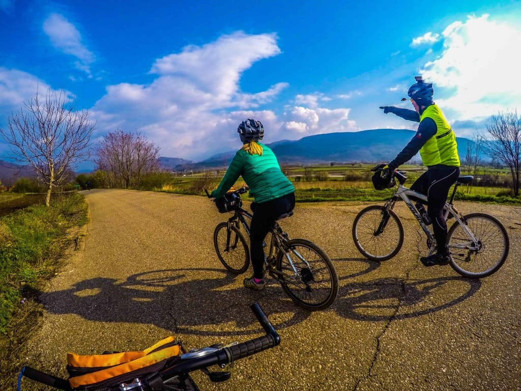 Cycling Serbian Countryside