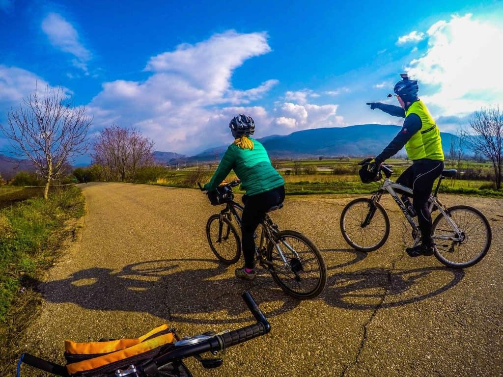 Cycling Serbian Countryside