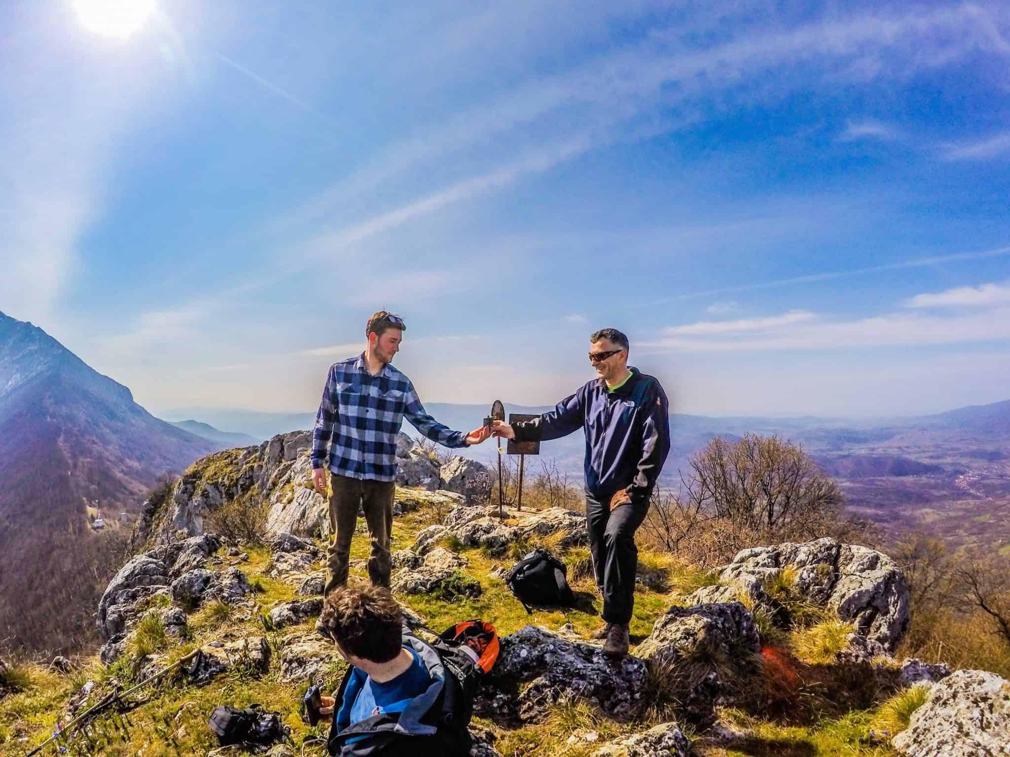 Rakjia on the mountain top