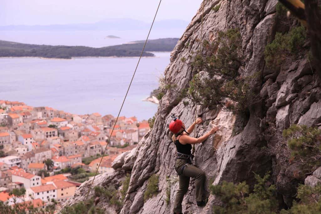 Rock Climbing in Hvar