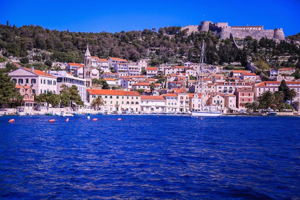 Hvar Town Harbor