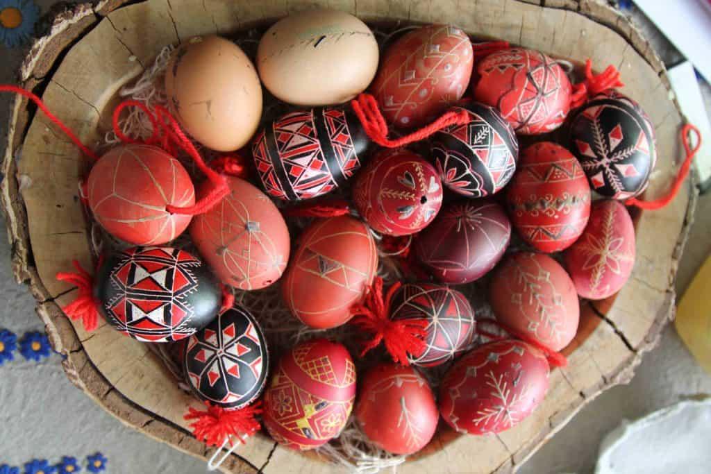 Bela Krajina Egg Making