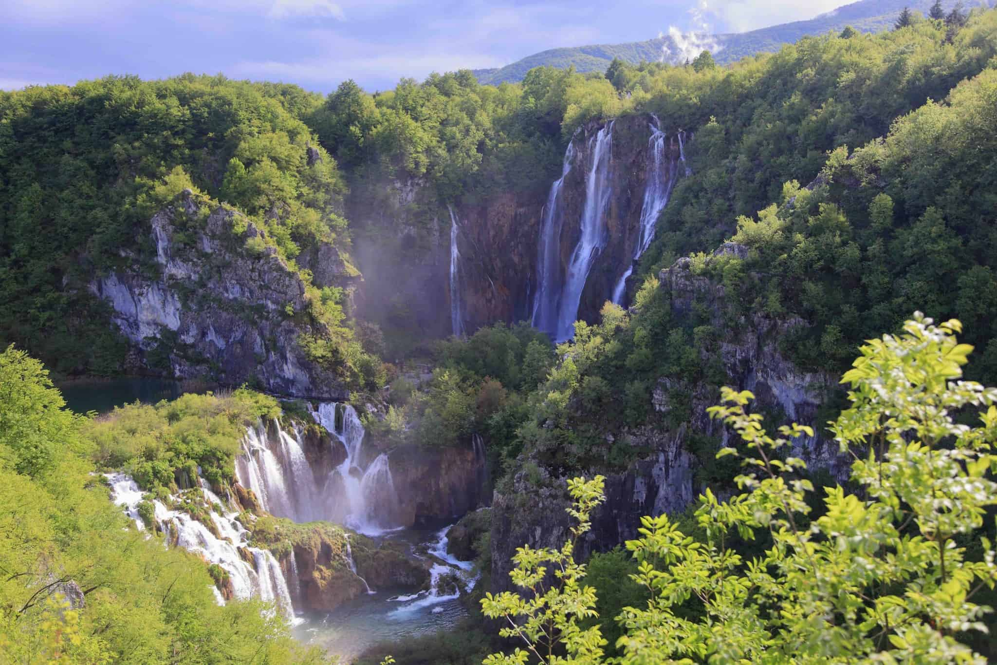 Big Falls Plitvice The World Pursuit