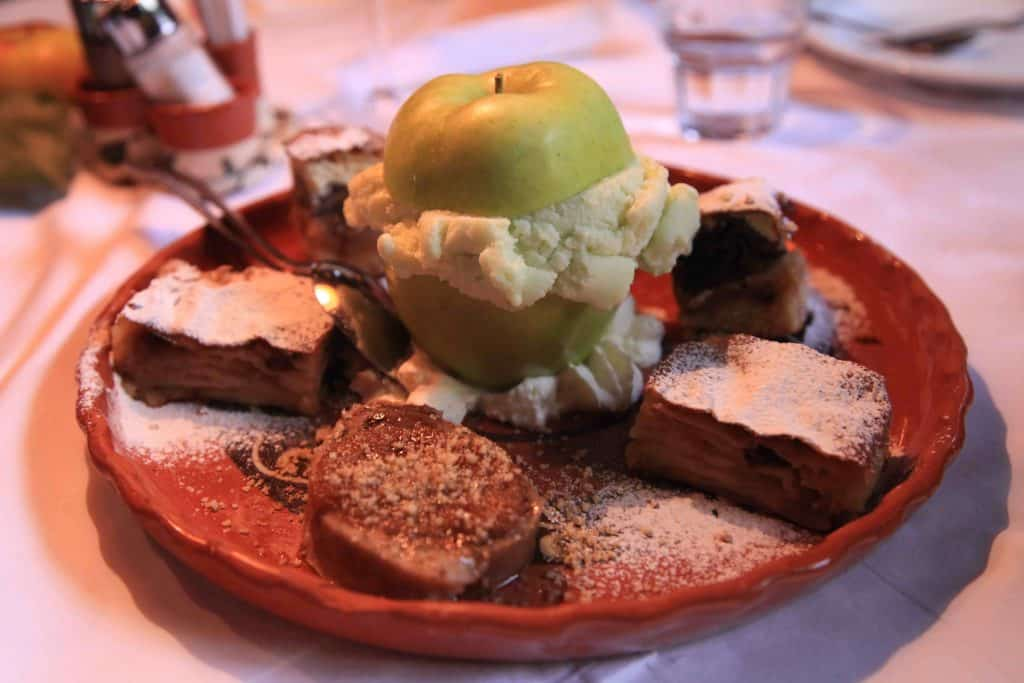 The best Apple Gelato I've ever had at Lectar