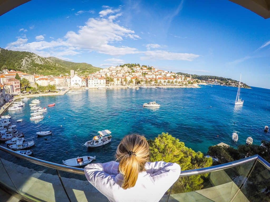 where to go in croatia? Hotel Adriana Hvar