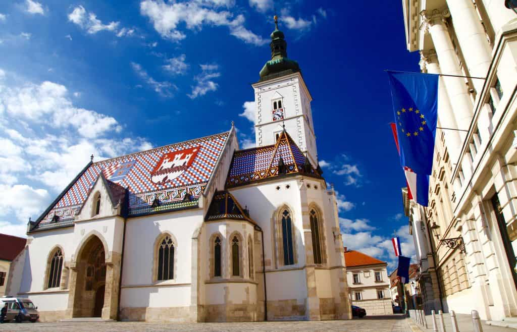 St. Marks Church in Zagreb a must see on a Croatian Vacation