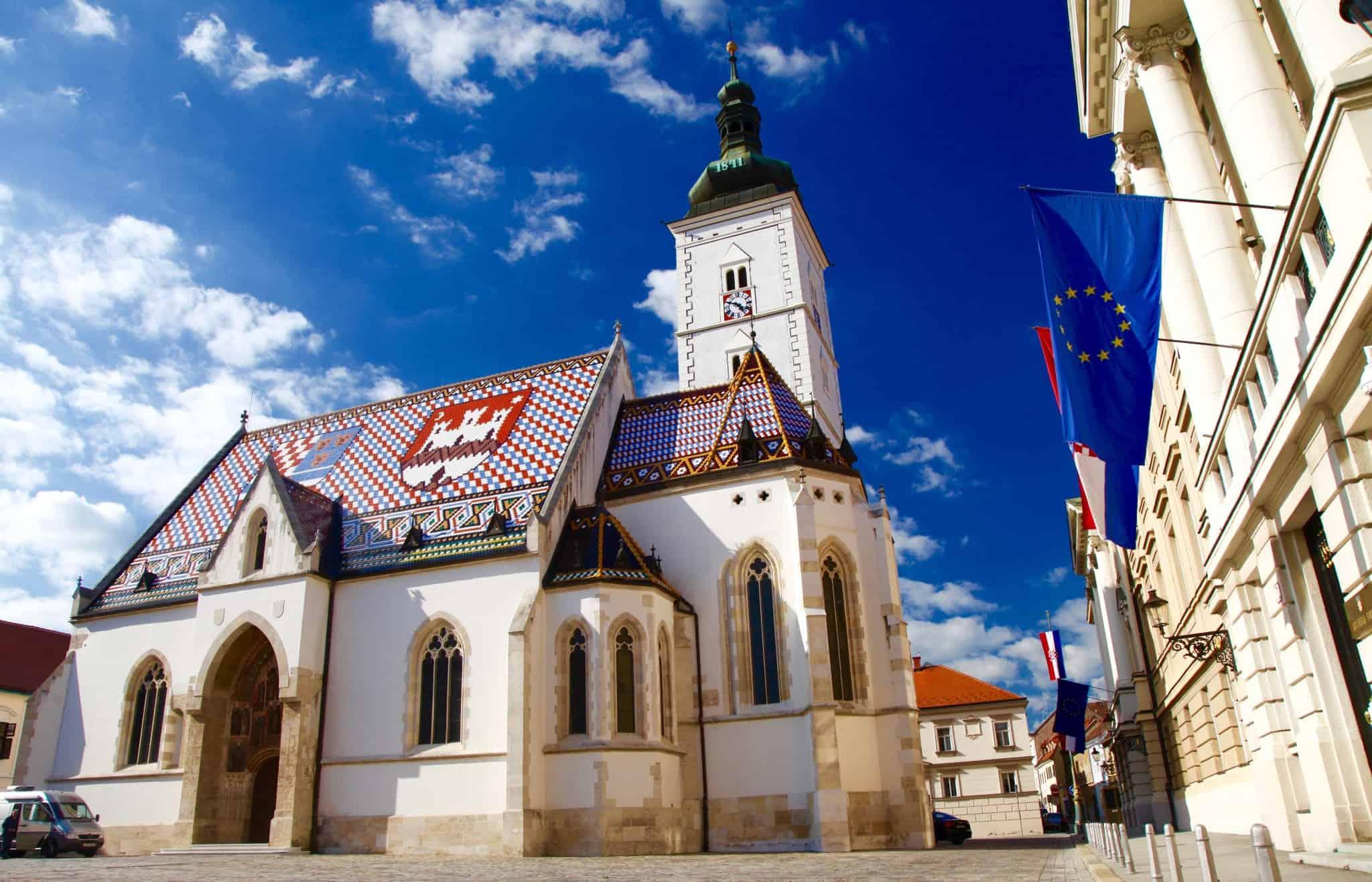 St. Marks Church in Zagreb