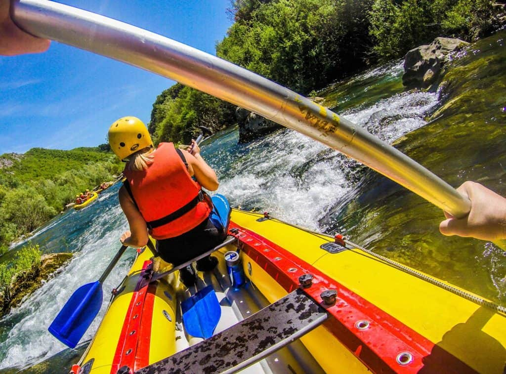 White Water Rafting in Croatia with Adventure Dalmatia