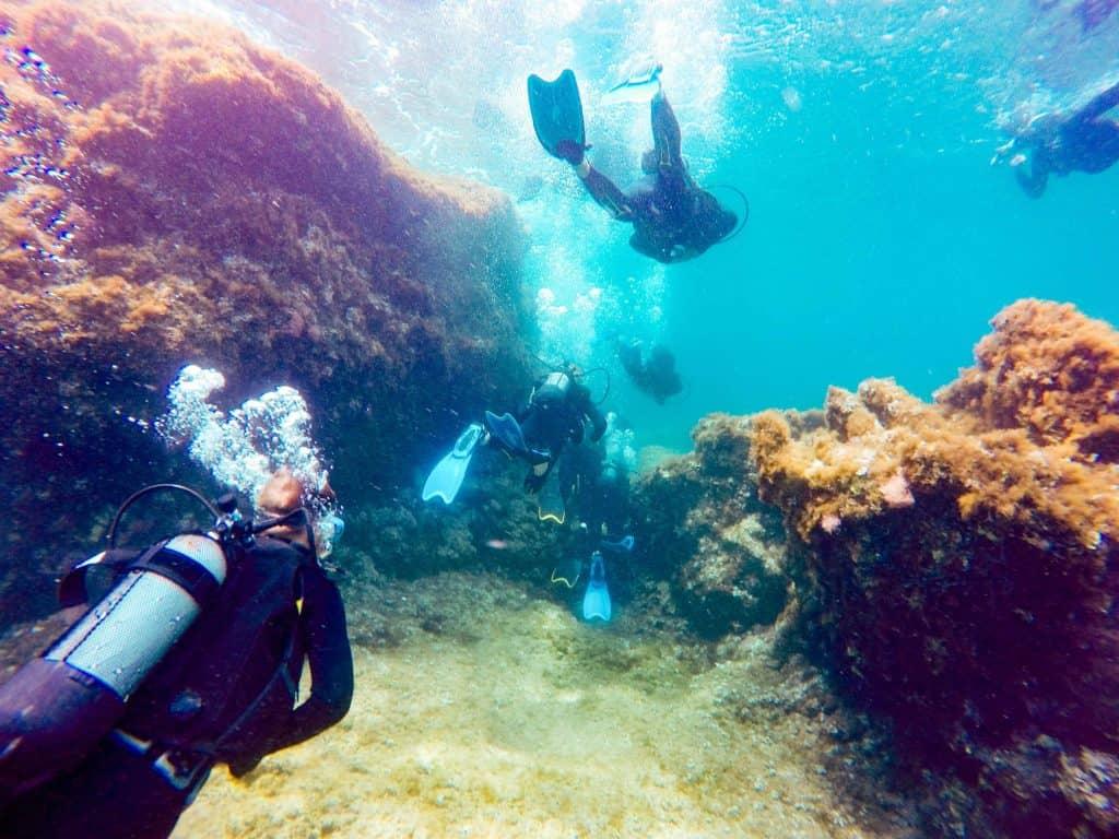 Scuba in Rhodes