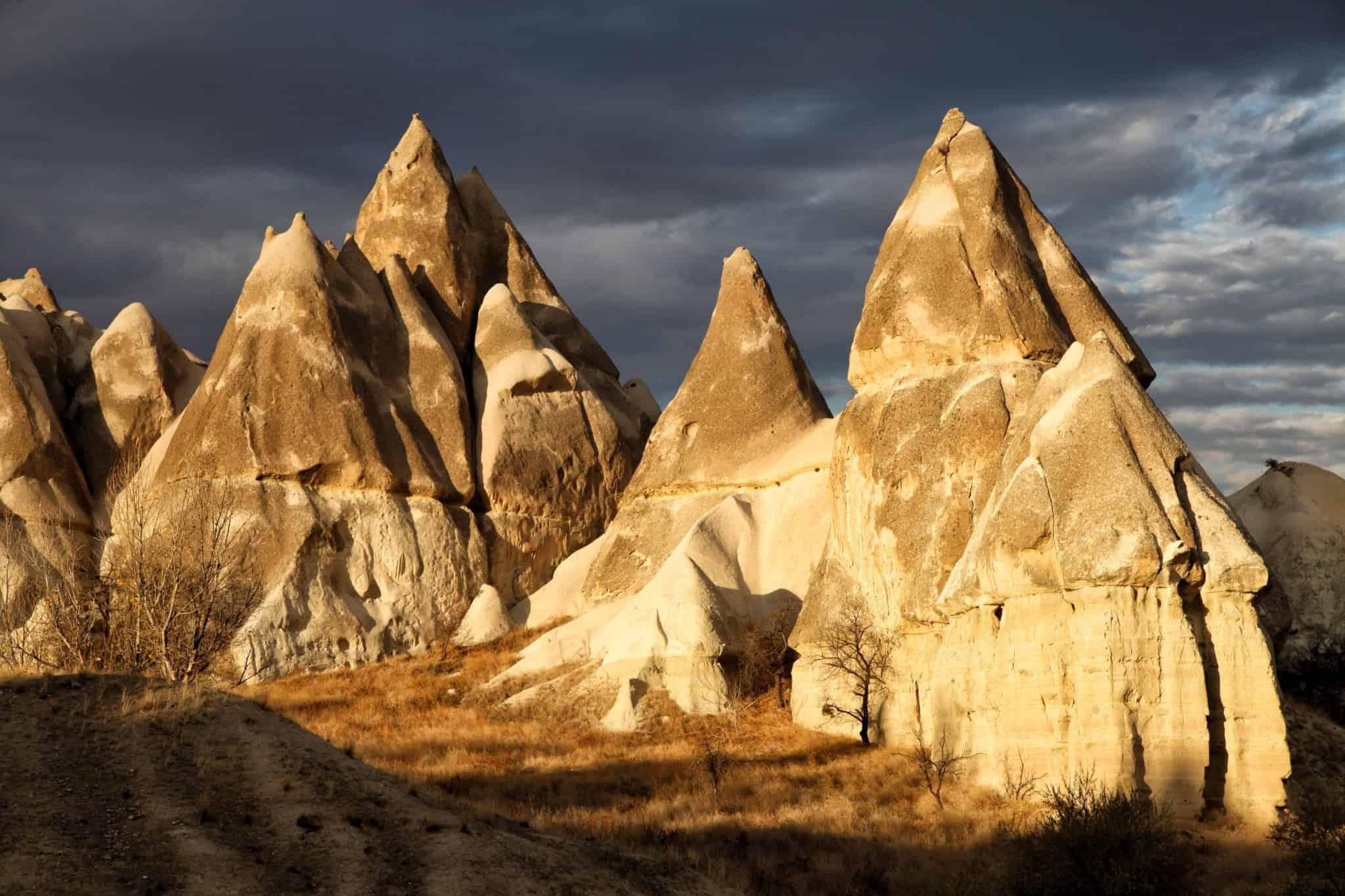Cappadocia Dark Sky