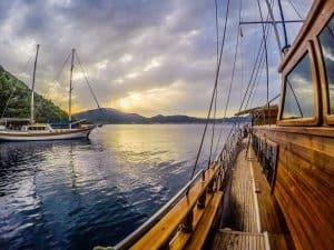 Gulet Cruise MedSea ES Canada Boat Side