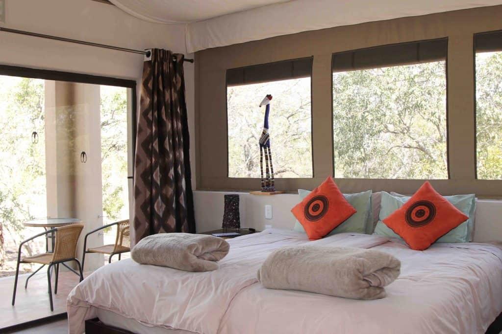 Cheetah bed