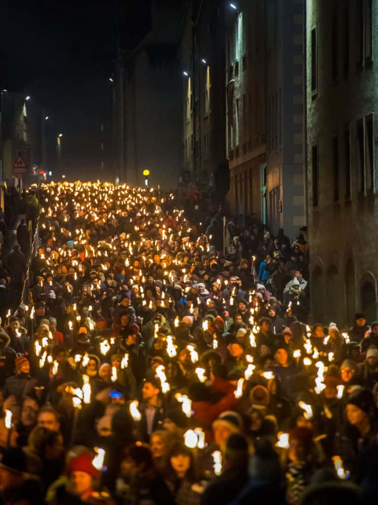 Edinburgh's Hogmanay Torchlight Procession 12 (c) Ian Georgeson