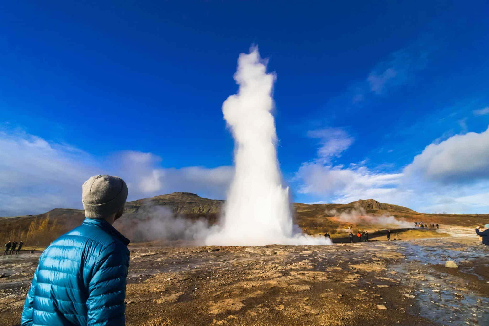 Best Time to visit Iceland - Geysir on the Golden Circle