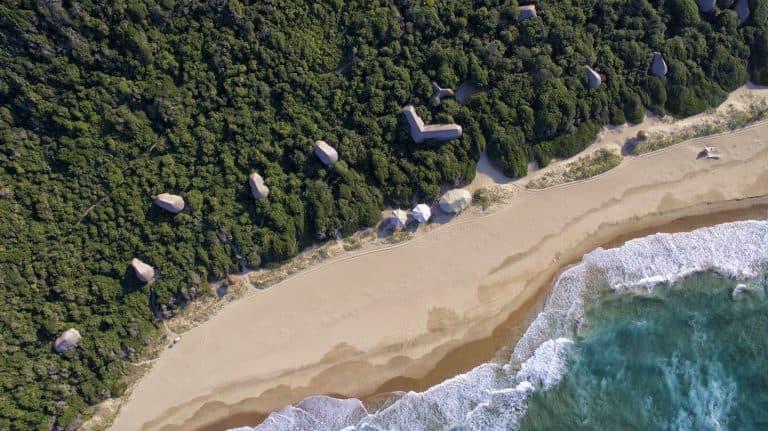 Anvil Bay Camp Mozambique Beach