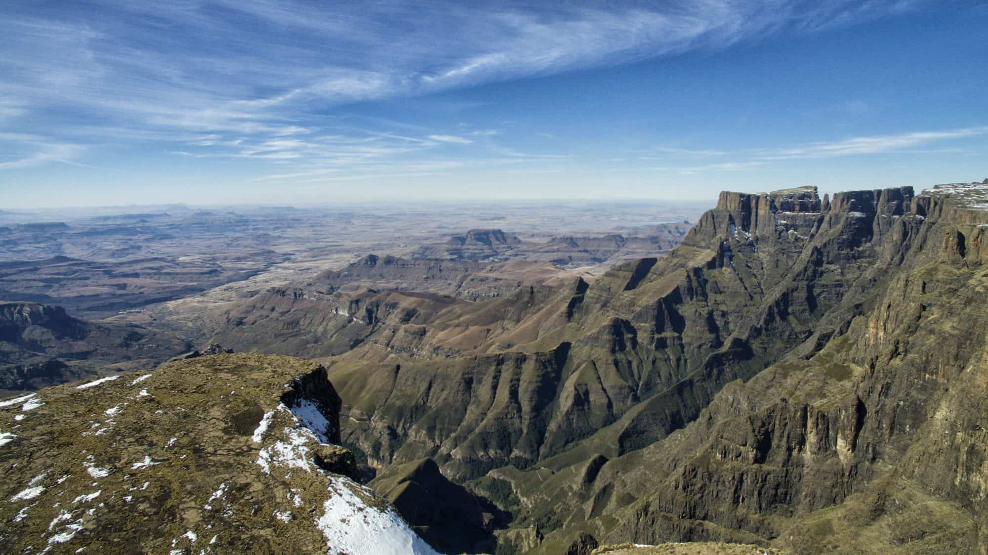 So how much does it cost to travel the world? Drakensberg Mountains