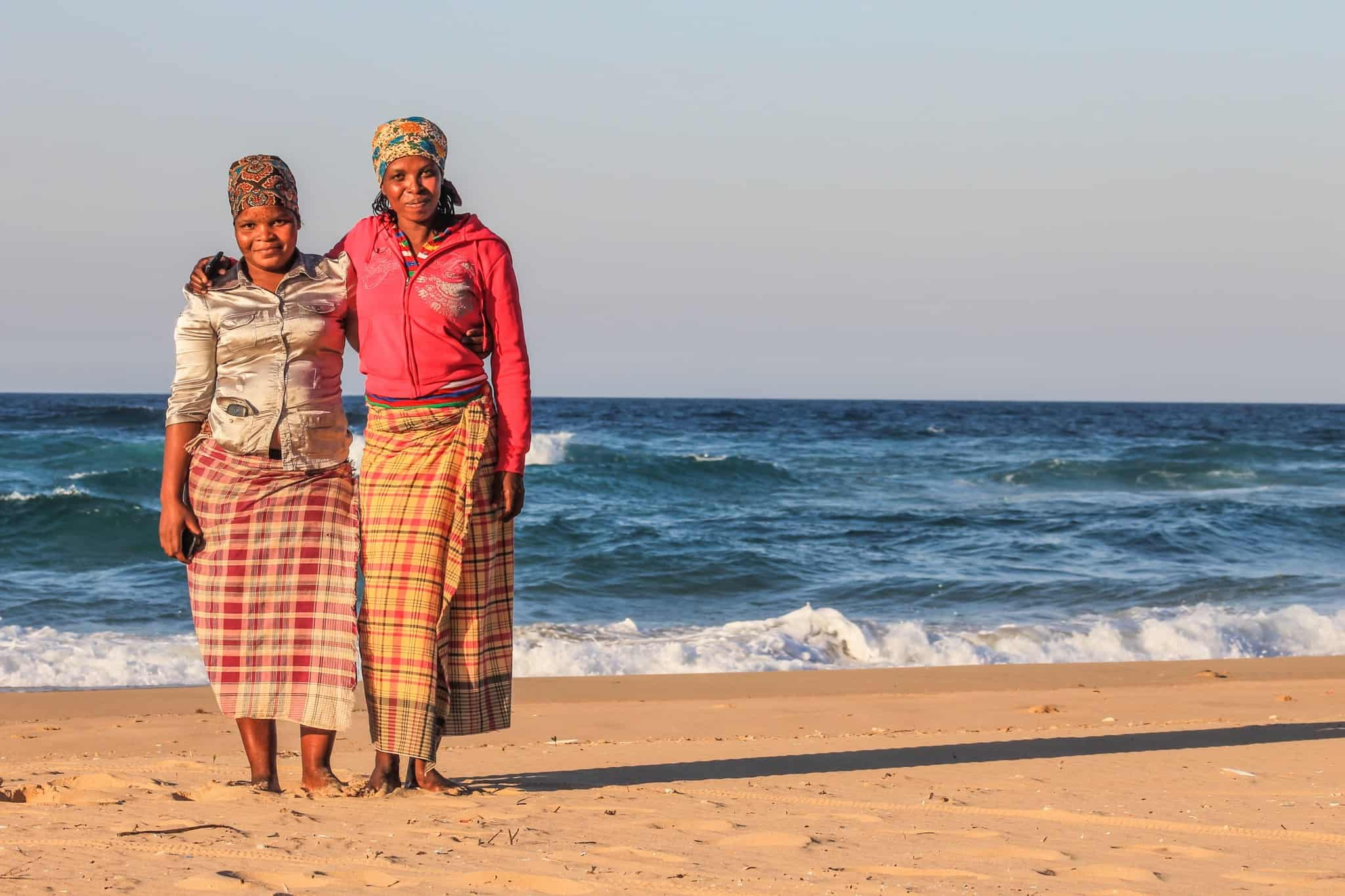 Friendly Locals on the East African Coast