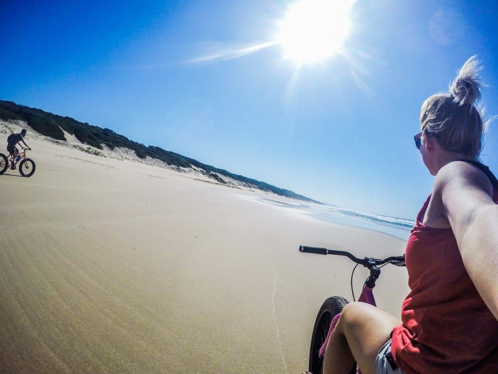 Riding on the Mozambique Coast