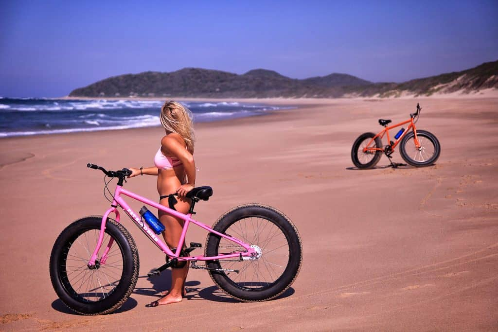 Tasha Bikes Anvil Bay mozambique coast