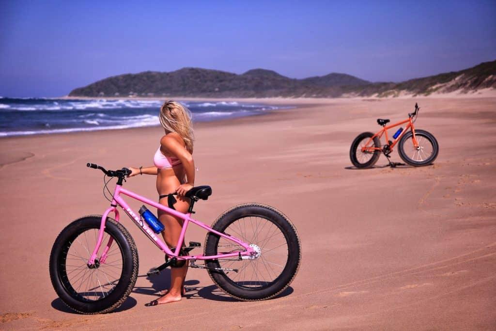 Tasha Bikes Anvil Bay mozambique coast