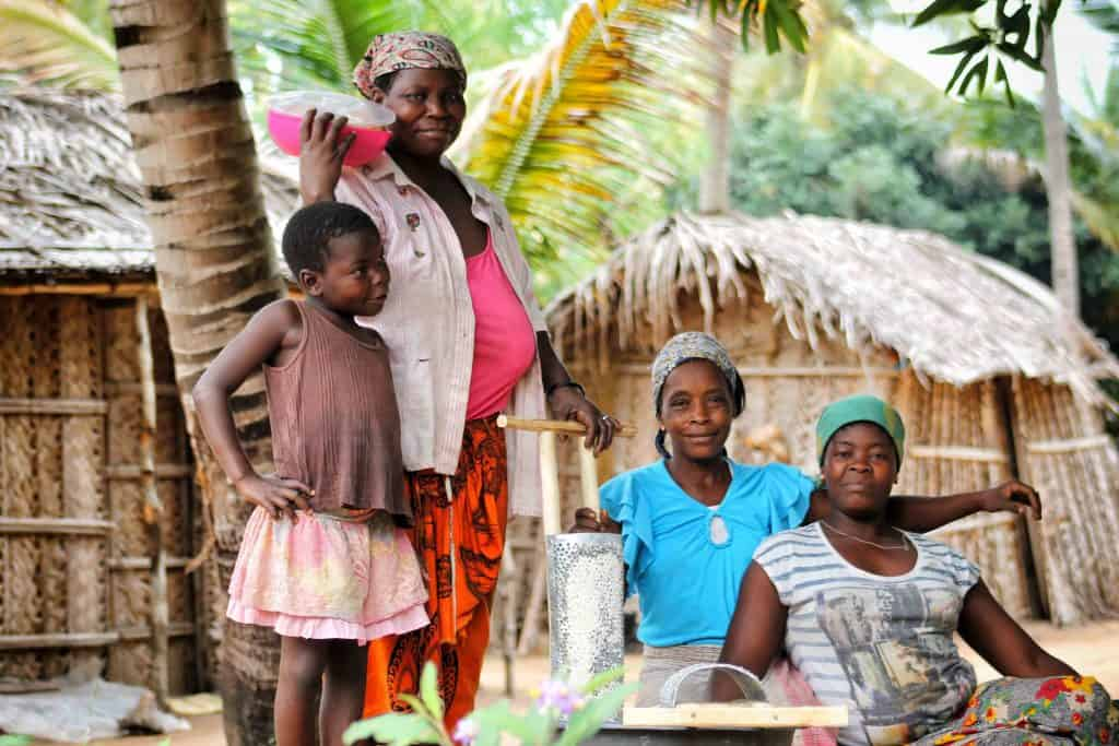 Travel in Mozambique to interact with the people