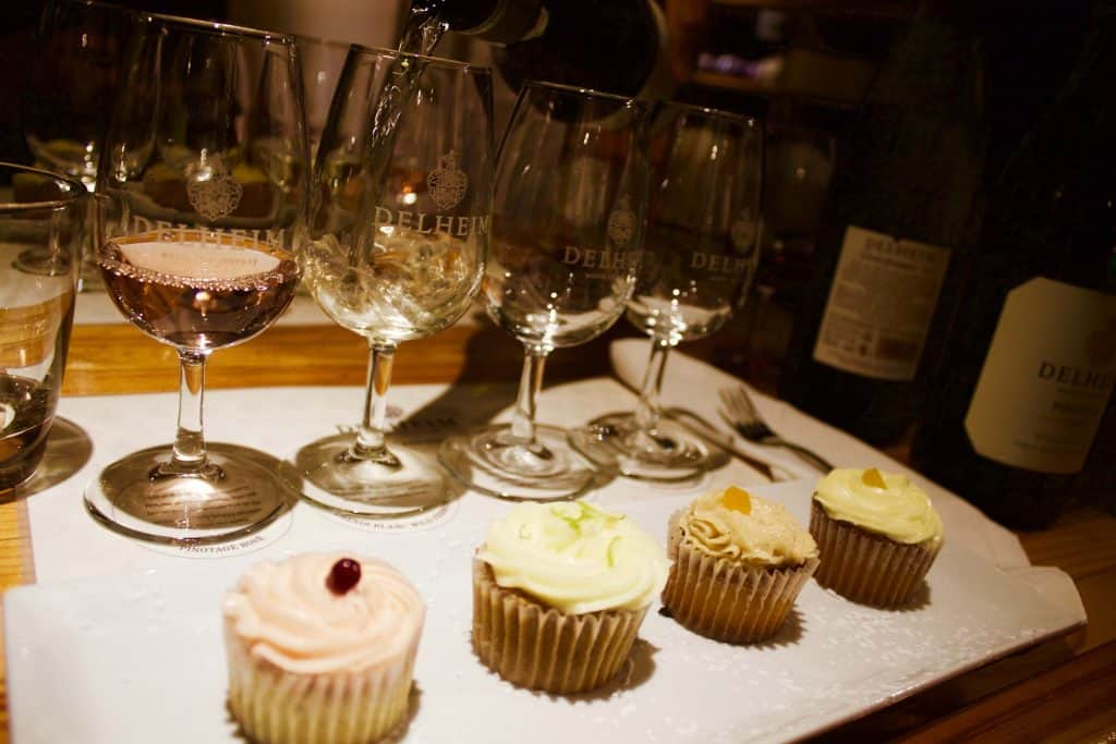 Food and Wine Pairing is Delheim