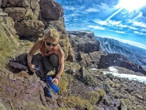 Using our Lifestraw in the Drakensberg
