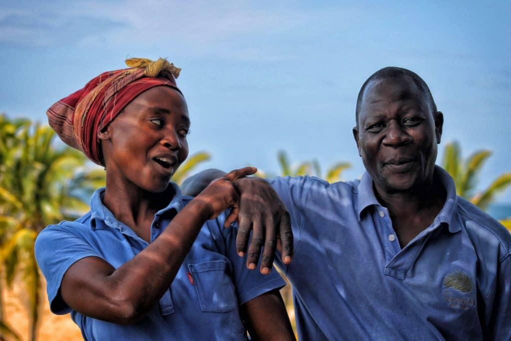 Mozambique Beach Staff