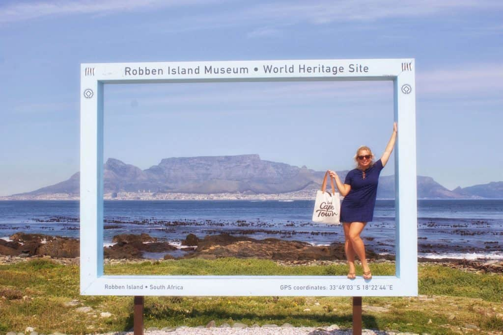 Visiting Robben Island on Vacation in South Africa