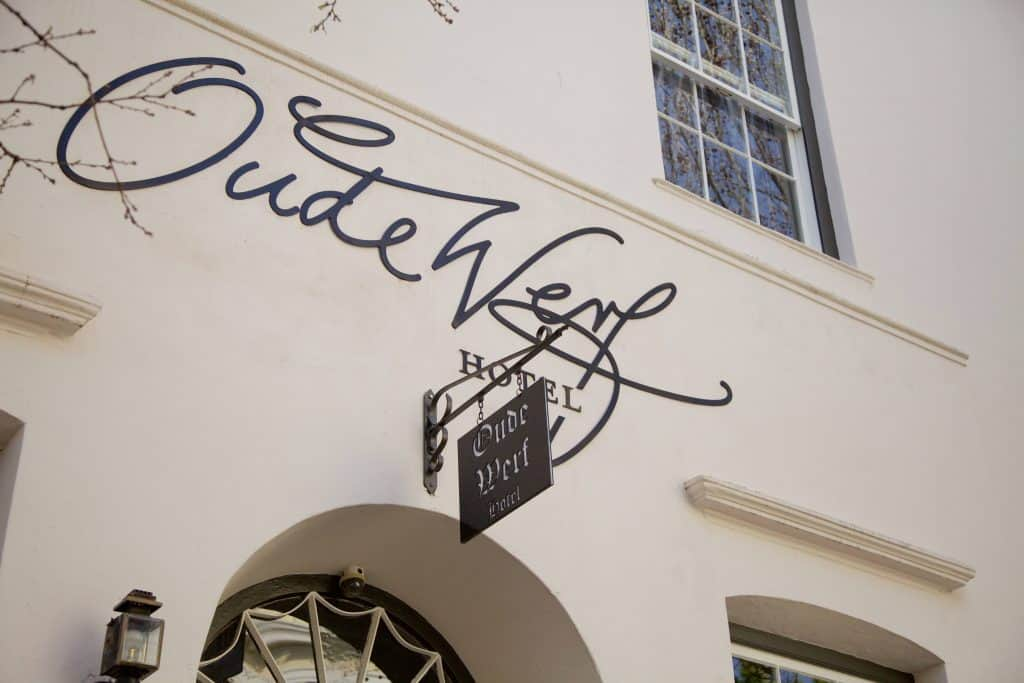stay at the Oude Werf while visiting the Stellenbosch Vineyards